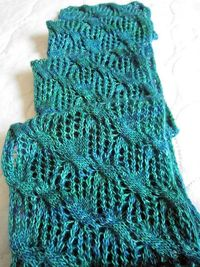 Yellow-Gold Tatamy Tweed -- going for more stole than scarf