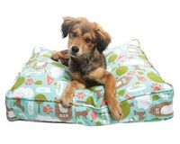 Neat idea...Stuff the dog bed with old clothes and such (Molly Mutt Dog Duvets).