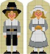 NEW Pattern - Pilgrim Couple!