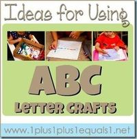 Ideas for Using Animal ABC Letter Crafts