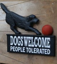Lab 'Welcome' Sign