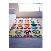 LUSY BLOM - a colorful inexpensive rug for a kid's room! $40