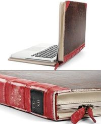 laptop disguised as a book...it does exist.