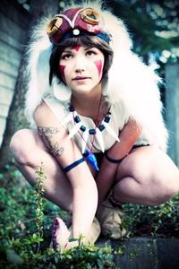 Princess Mononoke. Cosplayer: Becki Photographer: Molly McIsaac