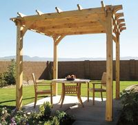 Pergola plans and tips.