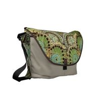 Belle Epoque Pattern Rickshaw Messenger Bag.
