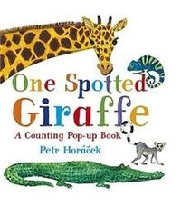 One Spotted Giraffe -preschool book- kindergarten book. counting book