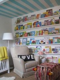 Great way to display books!