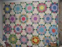 My Quilting Porch: Rose Star Quilt