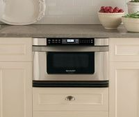 """24"""" Stainless Steel Microwave Drawer Oven"""
