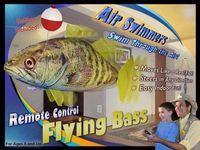 Remote Control Flying Bass Fish