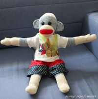 Olympic/Athletic Sock Monkey