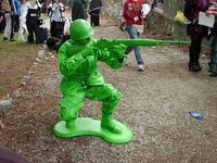 Plastic Soldier cosplay