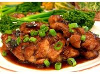 Tangy-Sweet Plum-Spiced Chicken