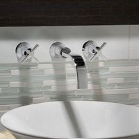 American Standard Berwick Bathroom Faucet with Cross Handle $249