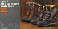 Save $20 + Free Shipping on Timberland Boots!
