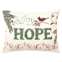 I pinned this Hope Pillow from the Christmas in July event at Joss and Main!