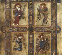 Book of Kells - in the Trinity College Library