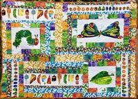 hungry caterpillar quilt 2