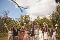 love for a wedding party pic