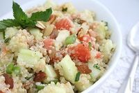 Quinoa Grapefruit Cucumber Salad by eatingwelllivingthin #Salad #Quinoa #Grapefruti #Cucumber #eatingwelllivingthin i It was just okay. lacked flavor