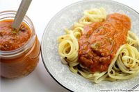 Garlic and Basil Tomato Sauce Recipe