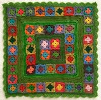 Groovy Textiles: Winter Garden Crochet Cover