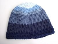 Shaded Blues Beanie by TheFuzzySheep