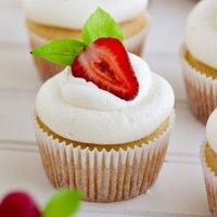 Whipped cream & cream cheese frosting!