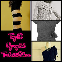 Top 10 upcycled T-shirt Ideas