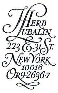 Herb Lubalin street address