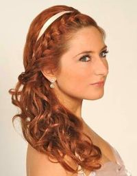 Fabulous Front Braid Side Ponytail For Wedding Hair Hair Tips Juxtapost Short Hairstyles Gunalazisus