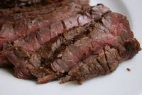 Korean BBQ Beef Flank Steak -