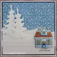 A Scrapjourney: Snowy House