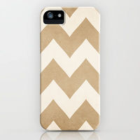 beige and cream chevron