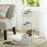 3 tiered baskets- changing table organization??